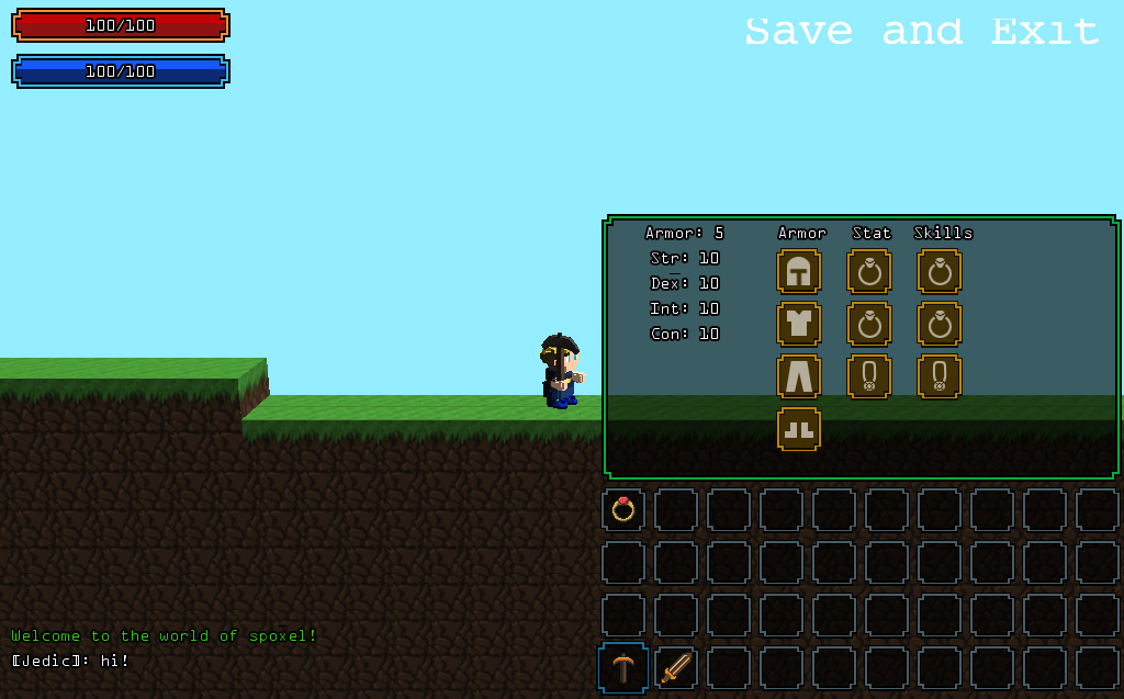 A alpha screenshot of the WIP inventory system