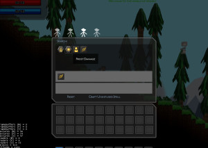 Prototype gui for spell creation